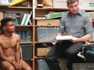 Vet homo agent naakt jong, zwart male,