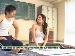 Sora aoi caliente chica precioso china modelo enjoys getting teased