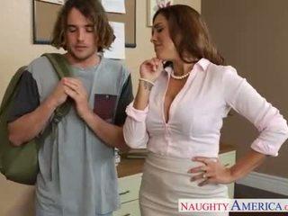 Naughty sex teacher Francesca Le fucking