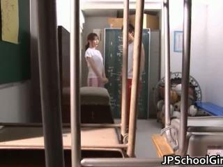 Nxehtë japoneze nxënëse seks video