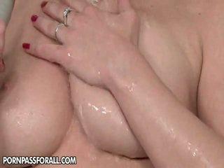 brunette, piercings, pissing