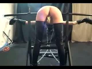 pussy spīdzināšanu, device bondage