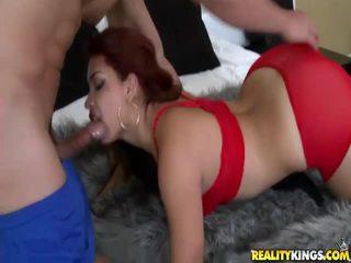 hardcore sex, blowjob, rødhårede