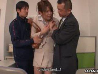 נוער זין loving yuuno hoshi הוא מגוששת על ידי two teachers