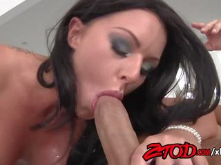 Busty Brunette Kerry Louise gets Fucked and Takes.