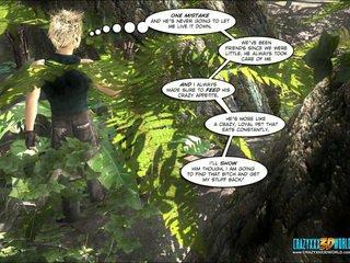 големи цици, карикатура, индийско дърво