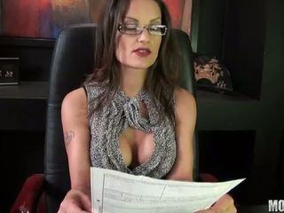 brunette, fucked lược, văn phòng quan hệ tình dục