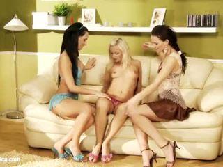 lesbiete, aptaustīšana, sapphic