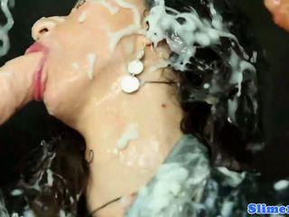 Samantha b showered uz sperma