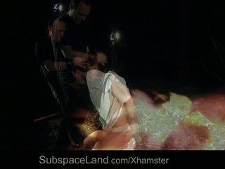 Submissive Tina Hot Bondage Fuck Punishment for Horny