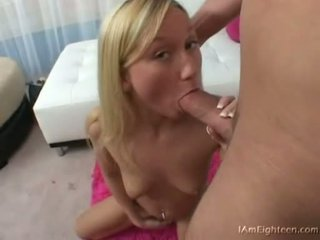 Teen Babe Madison Scott Gets Her Mouth Busy Engulfing On A Hard Cock