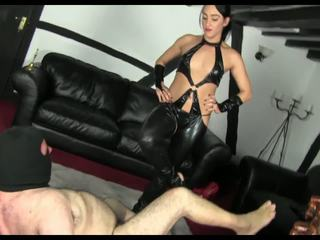 Punish Fat Man: Free Femdom HD Porn Video