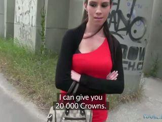 Sexy isabelle sucks e fucks para dinheiro
