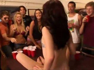 kesenangan, mahasiswa, group sex