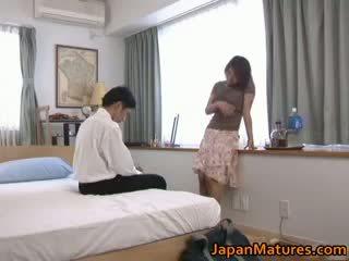 Uzbudinātas japānieši pieauguša babes nepieredzējošas part4