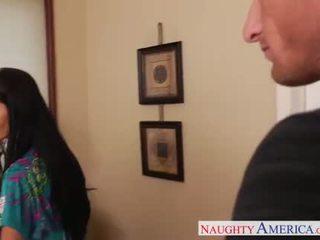Lustful mẹ trong pantyhose ava addams fucking