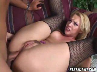 blondīnes, assfucking, anal sex