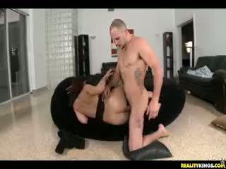 brunete, bērns, pornstar