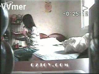 Nanny kamera catches bashkëshorte