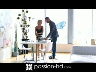 Passion HD: Hot blonde dakota skye gets pounded very hard
