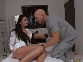 Sluty Nurse Andy San Dimas Gets Fucked And Facialized At Hospital Video