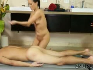 shower, small tits, massage