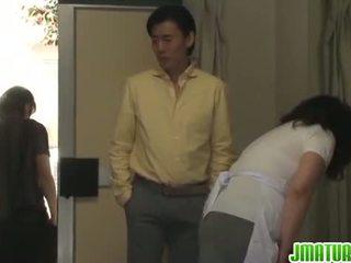 成熟 chizuru moans 硬 从 一 stiff 他妈的