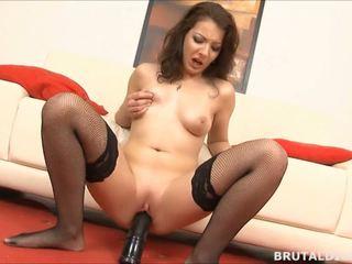 brunette, toys, orgasm