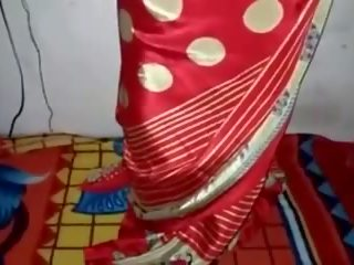 Satén seda saree sirvienta, gratis india porno vídeo 33