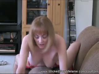 Creampie For Amateur Step Mom GILF Melanie