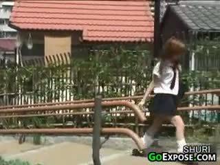 Japans schoolmeisje slipjes