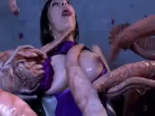 Monster tentacles jizzing groß brust orientalisch porno attacker alle die körper