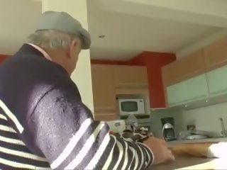 Francūzieši amatieri ar jauns un vecs guy, hd porno fa