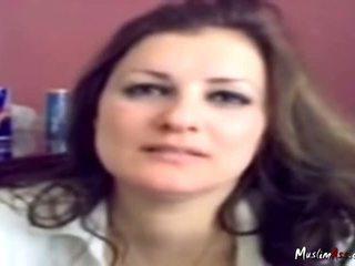 Lebanese Secretary Fucked In Office