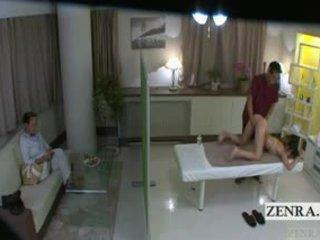 Subtitled jaapani koolitüdruk idol hopeful pepu massaaž