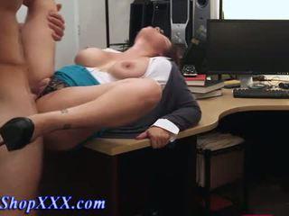 বাস্তব শৌখিন বিশাল breasted ঈশ