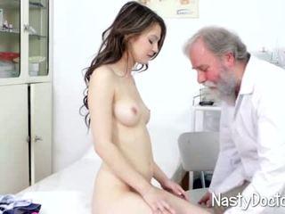 petite, médico, fetiche