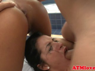 Bigass Ebony Babe Anally Pounded, Free...