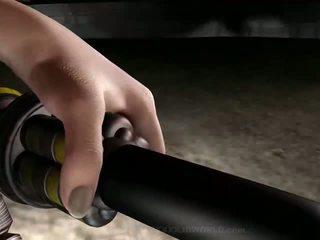 3D animation Robots sex attack