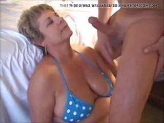 Michelle: Cum in Mouth & Mature Porn Video 13