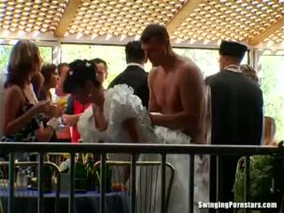 Elegant bitches vziať dicks na a svadba