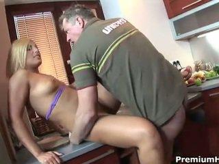 Kitchen fucking for mae victoria