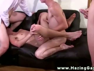 Straight amateur tw-nk takes gay facial