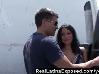 Reallatinaexposed - Sophia Loves a Big Cock Sliding Between Her Big Titsd Video