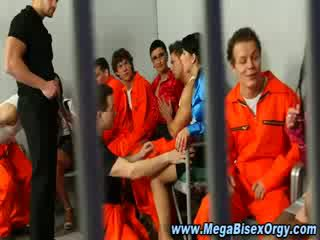 Bisex prisoners and sluts getting it on