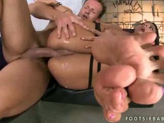 Erica fontes voet massage en seks
