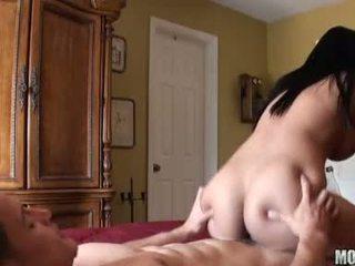 brunetă, hardcore sex, pula mare