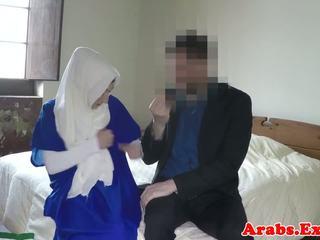 Arabic habiba throated kemudian doggystyled, lucah 57