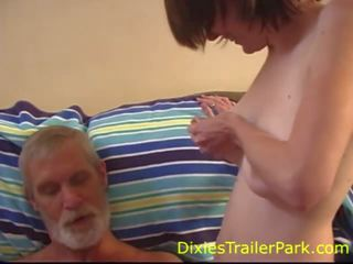 Teen Lactates for a Daddy, Free Dixies Trailer Park Porn Video