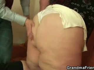 Grandma Friends: Fat bitch frilled by a young guy